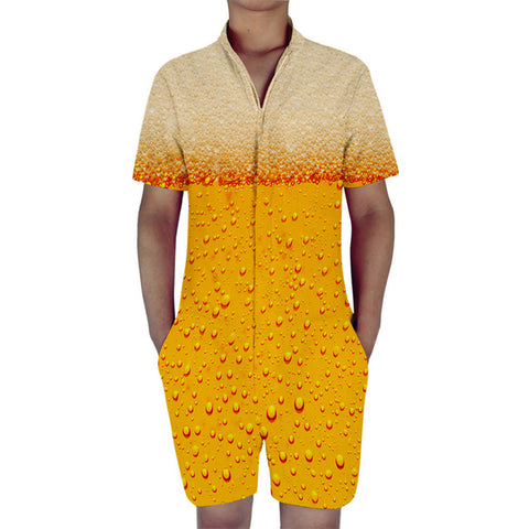 Beer 30 Men's Romper