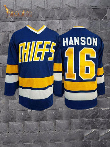 Slap Shot- Jack Hanson #16 (Blue)