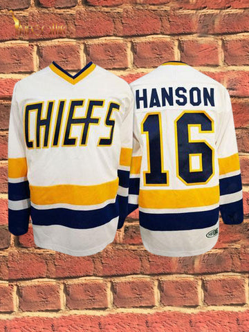 Slap Shot- Jack Hanson #16 (White)