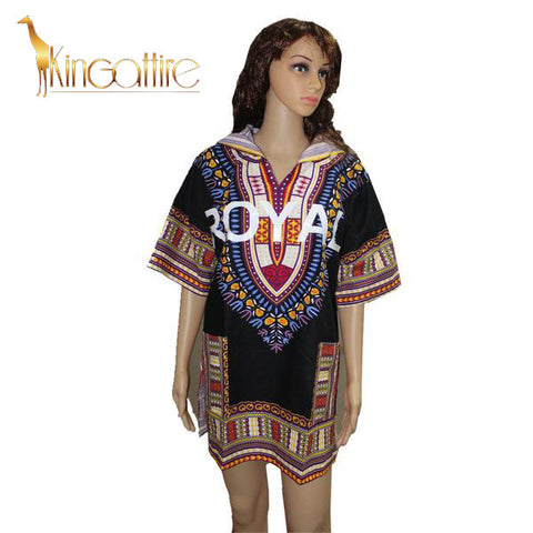 black royal dashiki