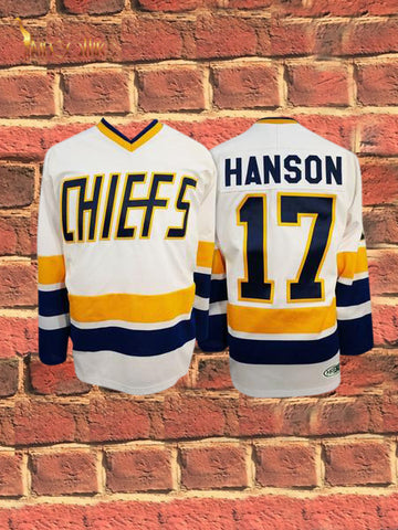 Slap Shot- Steve Hanson #17 (White)
