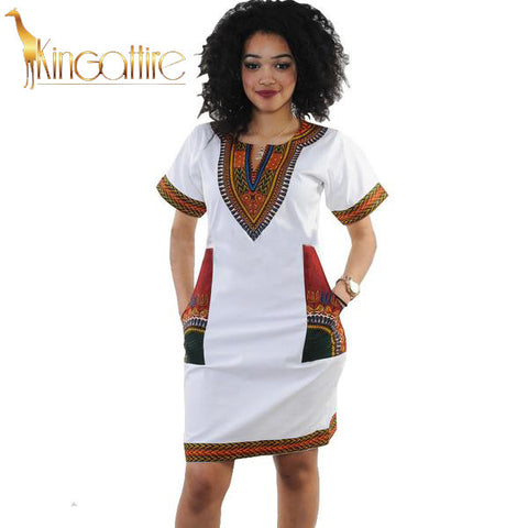 vintage dashiki dress