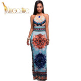 african styled dress