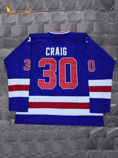 Miracle On Ice- Jim Craig #30 (Blue)