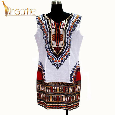 white sleeveless dashiki