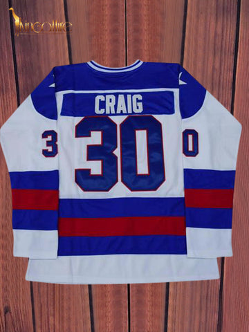 Miracle On Ice- Jim Craig #30 (White)
