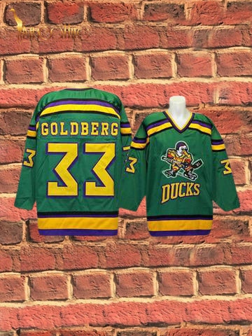 Mighty Ducks- Greg Goldbreg #33 (Green)