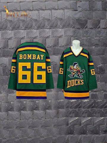 Mighty Ducks- Gordon Bombay #66 (Green)
