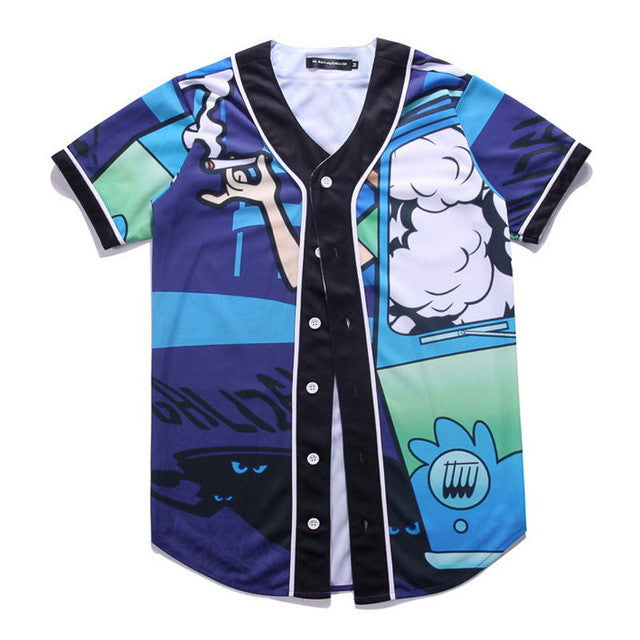 Cartoon Baseball Jersey