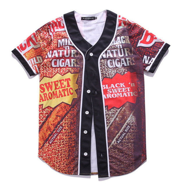 Sweet Cigar Baseball Jersey