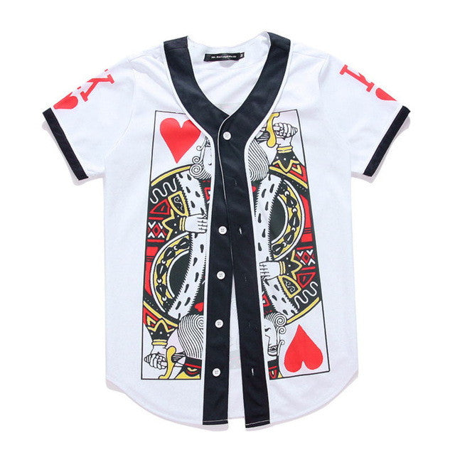 King Card Baseball Jersey