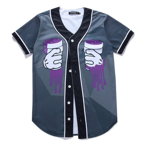 Lean On Me Baseball Jersey