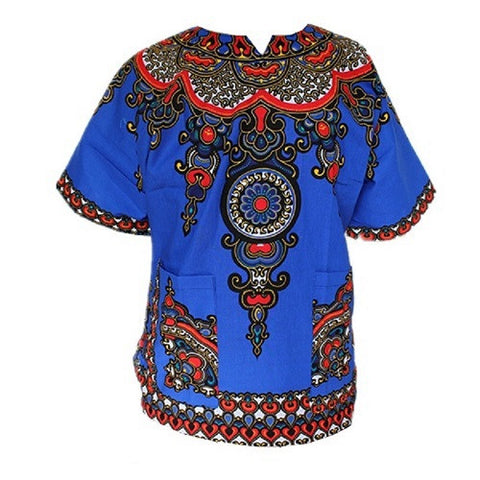 New Blue Dashiki