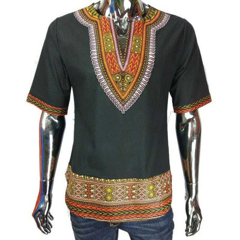 dashiki shirt black