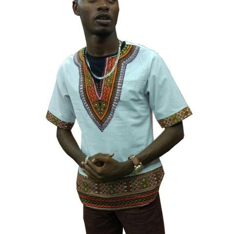 dashiki shirt white