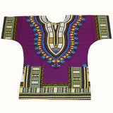 3xl dark purple dashiki