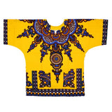 3xl dark yellow dashiki