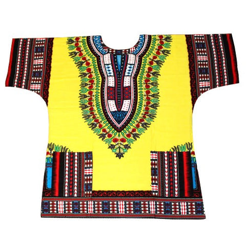 3xl yellow dashiki
