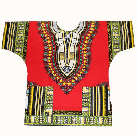 gc red dashiki