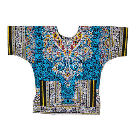 kongque sky blue dashiki
