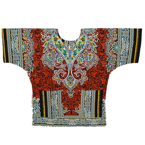 kongque red dashiki
