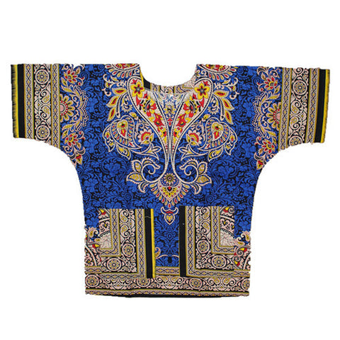 kongque blue dashiki