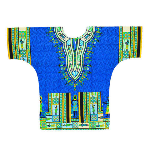 Blue Queen Dashiki