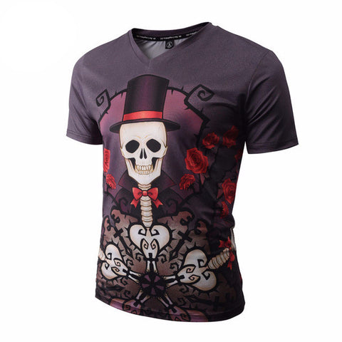 Skeleton Tee Band