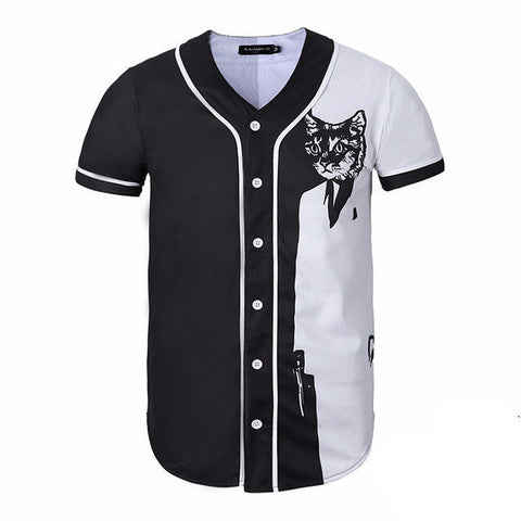 SF Cat Baseball Jersey