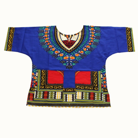 blue Kids Dashiki