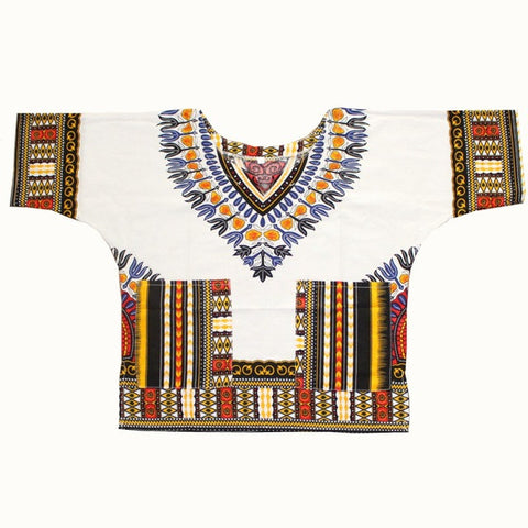 white dashiki kids