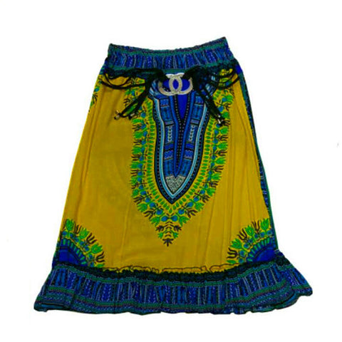 Dashiki Skirt(Multiple Choices)