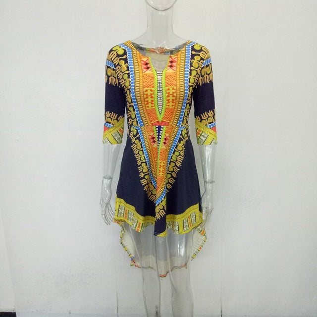 Queen's Long Back Dashiki (Multiple Choices)