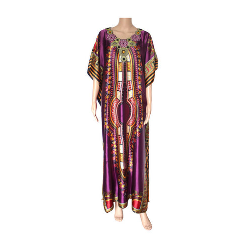 Vintage Dashiki Gown(Multiple Choices)