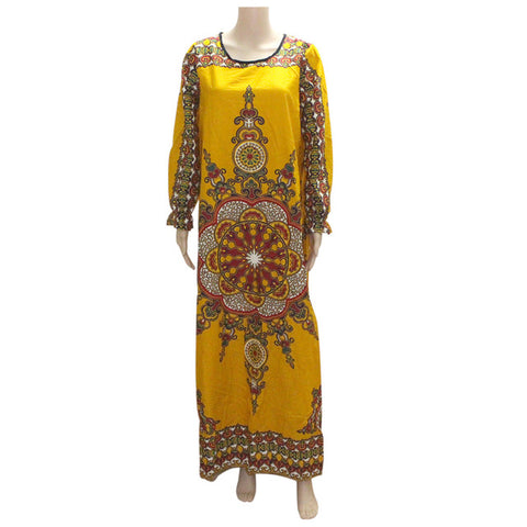Long Sleeve Dashiki Dress(Multiple Choices)