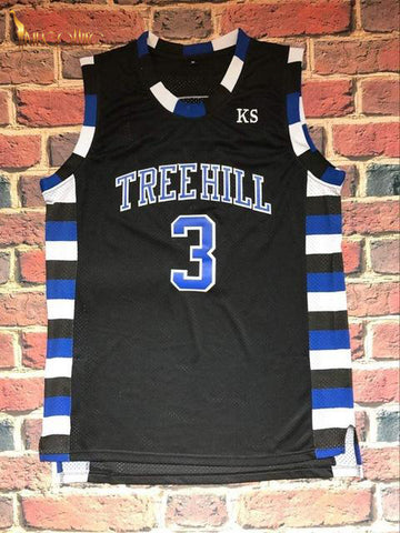 One Tree Hill- Lucas Scott #3 (Black)