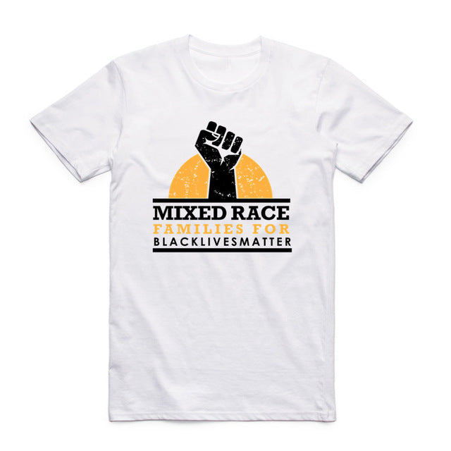Black Lives Matter Tee - Mixed Race Families