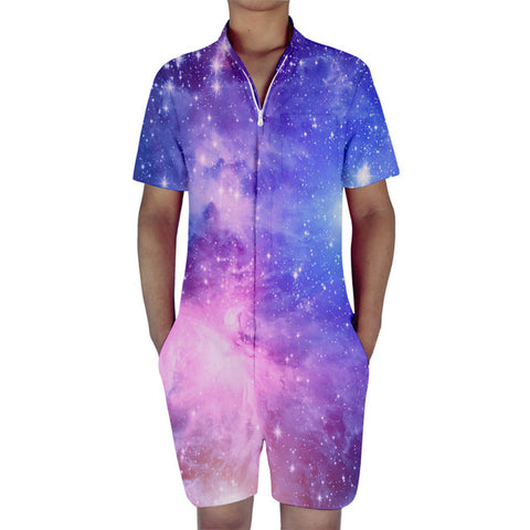 Galaxy Men's Romper