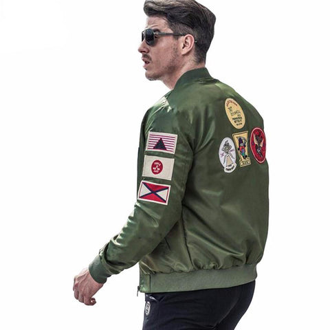 Men Army Bomber Jacket (Multiple Choices)