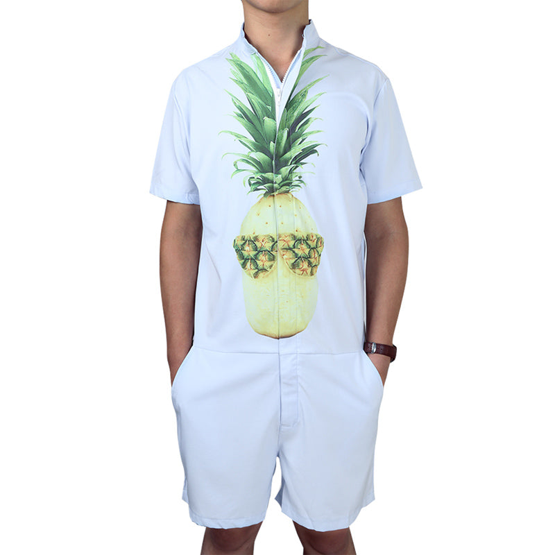 PIneapple Bro Men's Romper