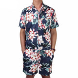 Flower Men's Romper