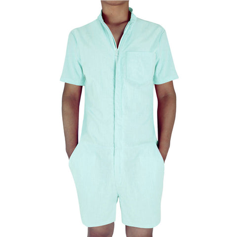 c4bd5fed720 ... Men s Romper w  Zipper (Multiple Colors) ...