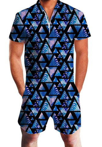 Pyramid Men's Romper