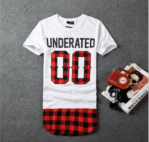 Underated Flannel Tee (Multiple Choices)