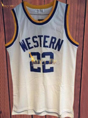 Blue Chips- Butch McRae #22(White)
