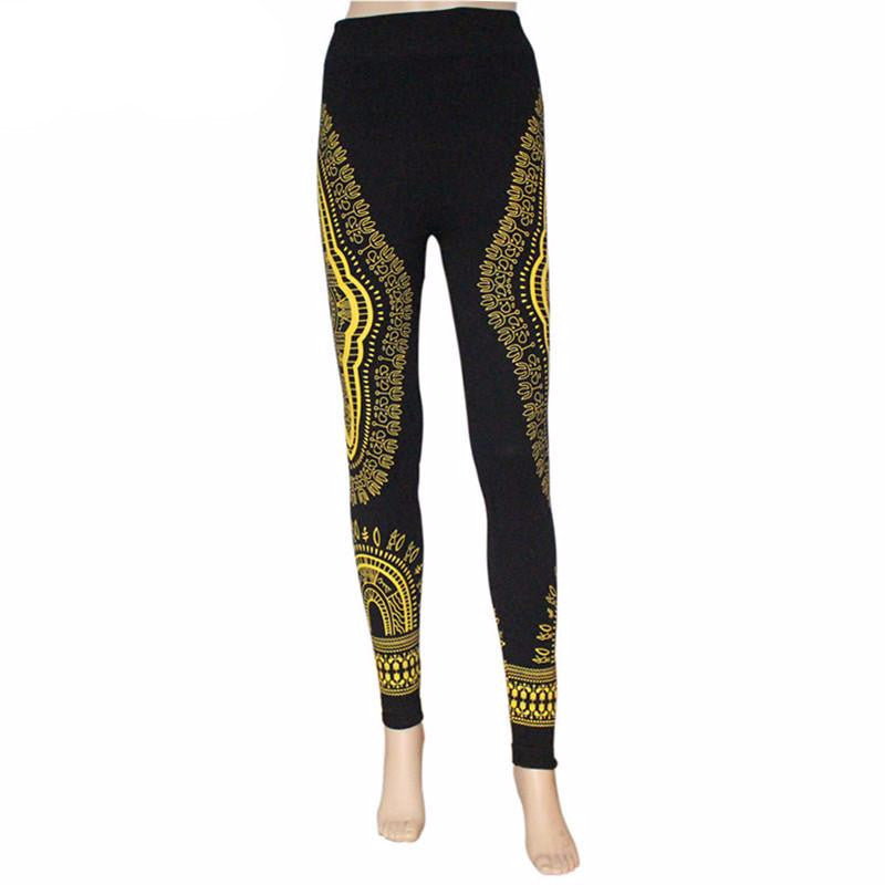 Printed Dashiki Skinny Bottoms(Multiple Choices)