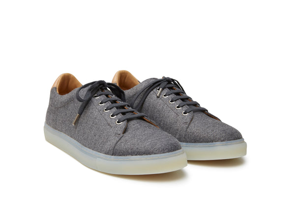 N°7 SAINTONGE MAN WOOL STONE GREY