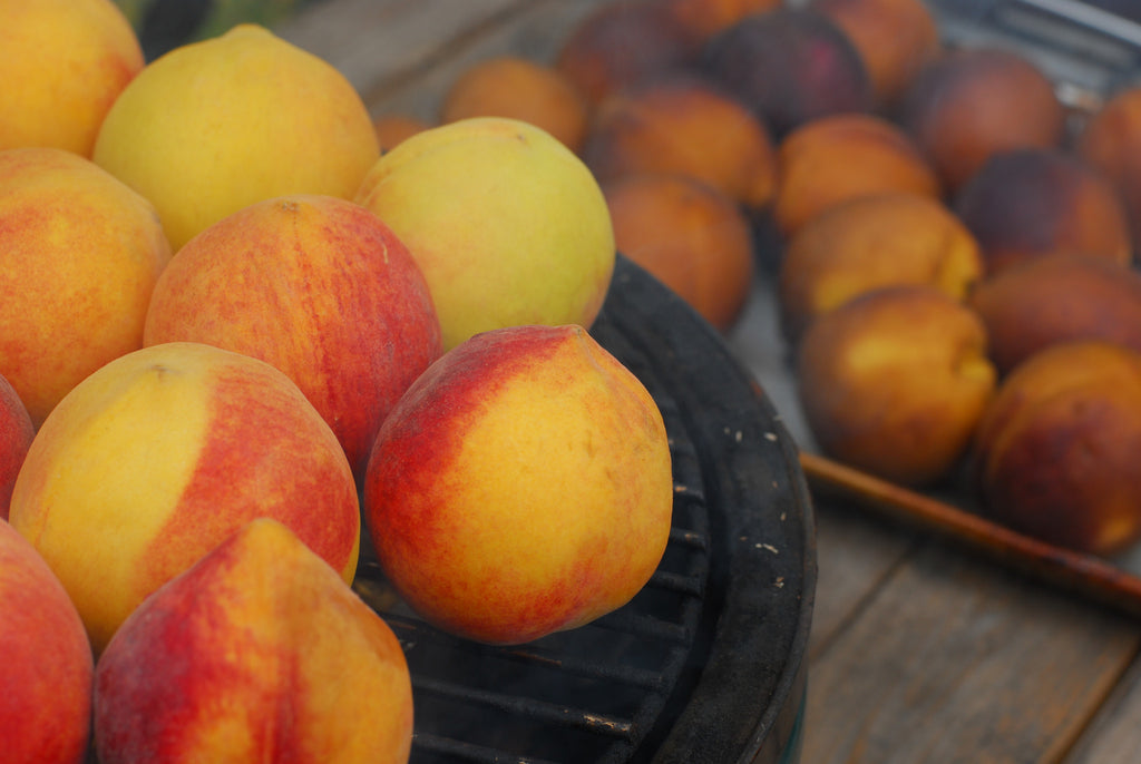 Smoked Peaches