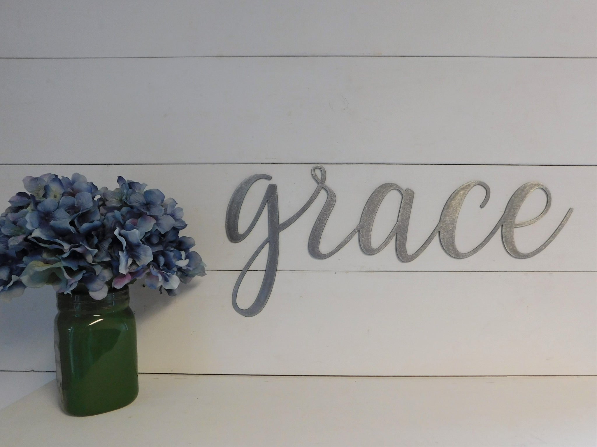Grace Metal Sign