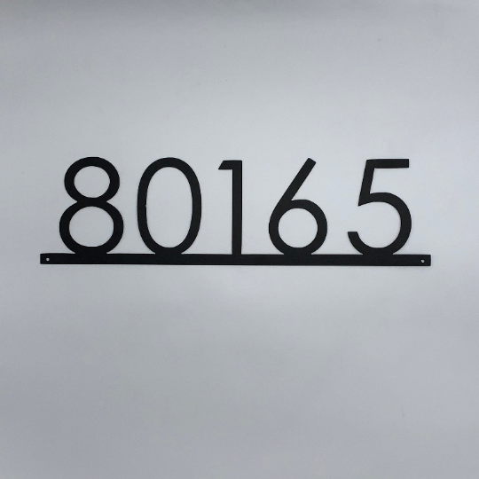 Modern Address Numbers